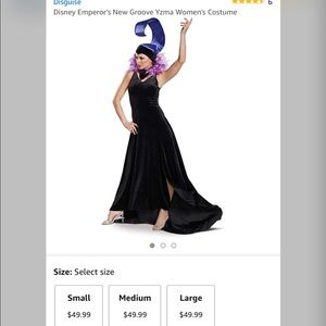 YZMA Halloween Costume from Emperors New Groove